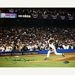 Mariano Rivera Autographed 2008 Pitching Horizontal 8x10